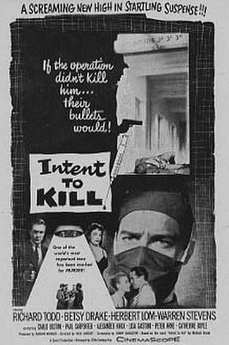 Intent to Kill - Image: Intenttokill