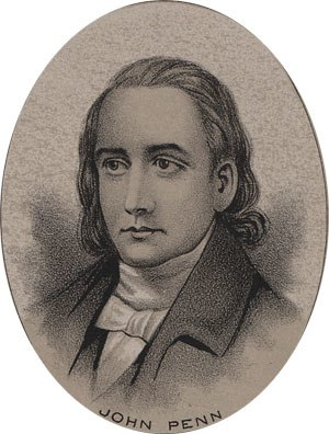 John Penn (North Carolina politician) - Image: John Penn
