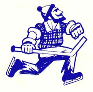 Vancouver Canucks (WHL) - Vancouver Canucks WHL logo circa 1970