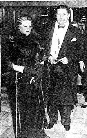 Jules Levey - Jules Levey and wife Mae Ann Levey, 1933