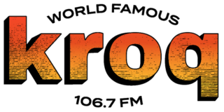 KROQ-FM Alternative rock radio station in Los Angeles