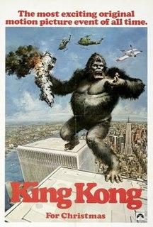 <i>King Kong</i> (1976 film) 1976 film by John Guillermin