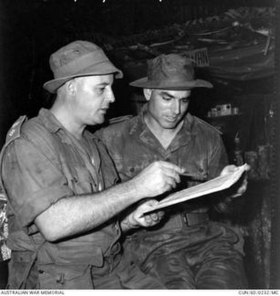 LTCOL Morrow and LTCOL Weir Malaya 1960 (AWMCUN600232MC).jpg