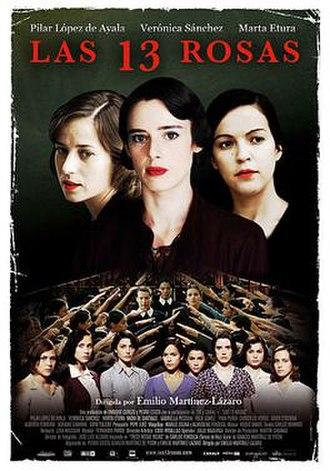 Las 13 rosas - Theatrical release poster