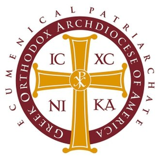 Greek Orthodox Archdiocese of America - Image: Logo of the Greek Orthodox Archdiocese of America