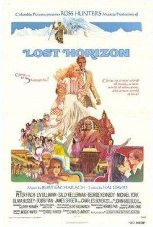 Lost Horizon (1973 film) - film poster by Howard Terpning