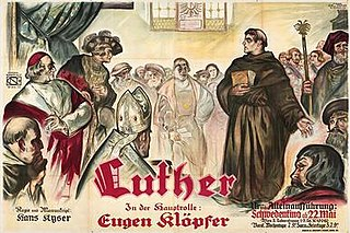<i>Luther</i> (1928 film) 1928 film