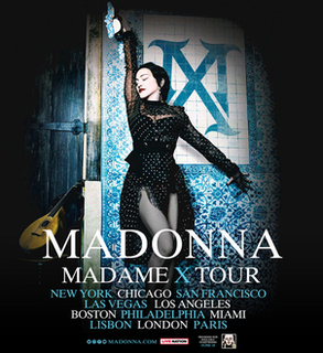 Madame X Tour 2019-2020 concert tour by Madonna