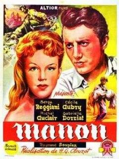 <i>Manon</i> (film) 1950 film by Henri-Georges Clouzot