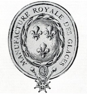 Saint-Gobain - An Early Saint-Gobain Emblem