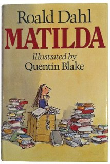 <i>Matilda</i> (novel) 1988 childrens book by Roald Dahl