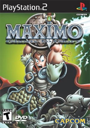 Maximo: Ghosts to Glory - Cover art