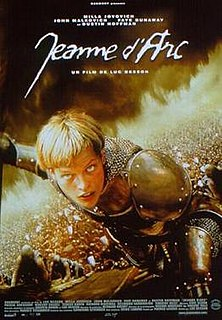 <i>The Messenger: The Story of Joan of Arc</i> 1999 film by Luc Besson