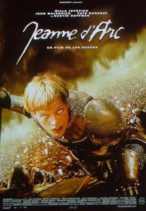 The Messenger: The Story of Joan of Arc - French theatrical release poster