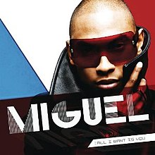 An off-center image of the artist wearing oversized red sunglasses and a leather jacket whose outsized popped collar brushes the tips of his ears; the foreground bears his name and the album title, while the background depicts three layers of color: blue, white, and red