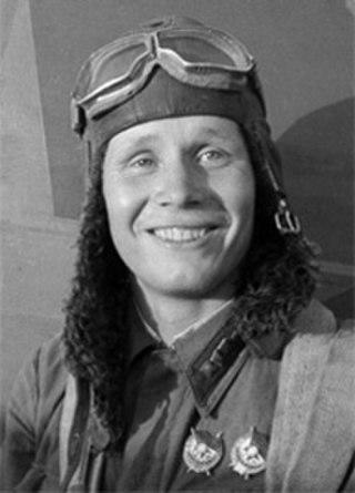 Mikhail Baranov Soviet flying ace