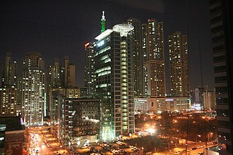 Yangcheon District - Skyline at Night (SBS)