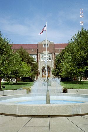 Muskingum University - Montgomery Hall, Muskingum's main administrative building