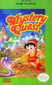 Mystery Quest Video Game Wikipedia