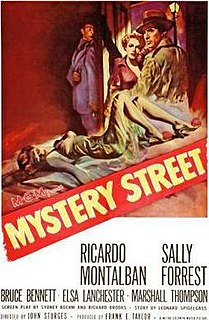 <i>Mystery Street</i> 1950 film by John Sturges
