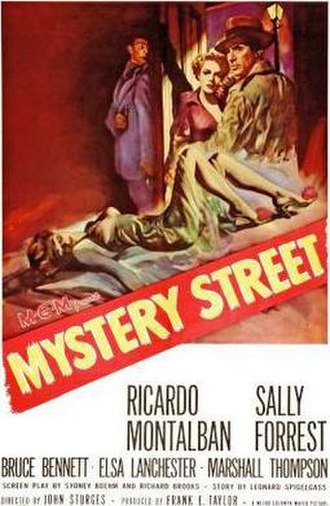 Mystery Street - Theatrical release poster