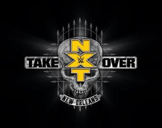 NXT TakeOver: New Orleans 2018 WWE Network event
