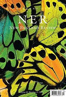 <i>New England Review</i> literary magazine