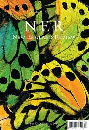New England Review - Image: New England Review volume 32 number 3 cover