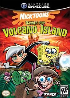 <i>Nicktoons: Battle for Volcano Island</i> 2006 action-adventure video game