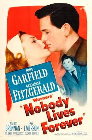 Nobody Lives Forever (1946 film) - Theatrical release poster