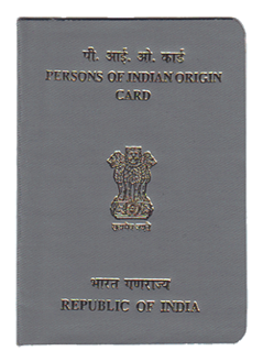 Persons of Indian Origin Card