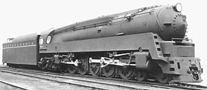 Pennsylvania Railroad class Q1 - Three quarters view of the Q1.