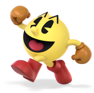 Pac-Man (character) - Pac-Man, as he appears in Super Smash Bros. Ultimate