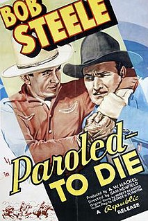 <i>Paroled - To Die</i> 1938 film by Sam Newfield