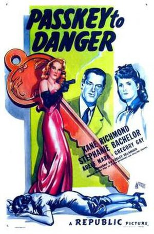 Passkey to Danger - Theatrical release poster