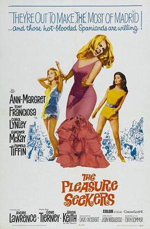 The Pleasure Seekers (1964 film) - Image: Pleasure seekers poster