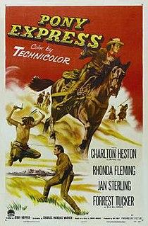 <i>Pony Express</i> (film) 1953 film by Jerry Hopper