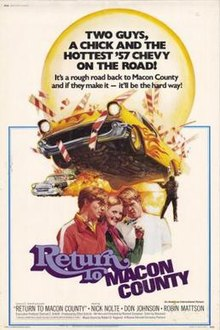 Poster of the movie Return to Macon County.jpg