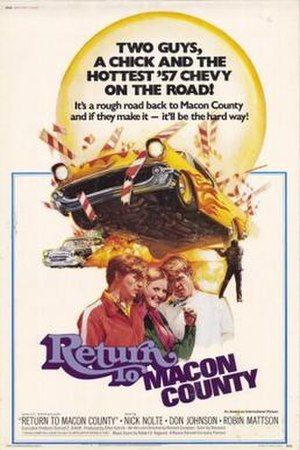 Return to Macon County - Theatrical release poster