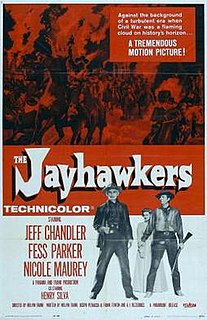 <i>The Jayhawkers!</i> 1959 film by Melvin Frank