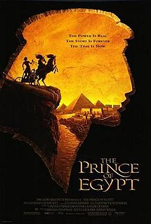 <i>The Prince of Egypt</i> 1998 film by Simon Wells, Brenda Chapman, Steve Hickner