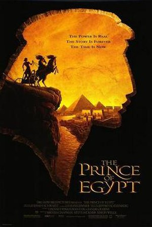 The Prince of Egypt - Theatrical release poster