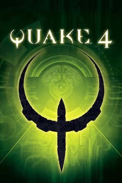 North American PC box art for Quake 4