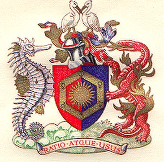 Royal Institute of Chemistry - Coat of Arms of the RIC