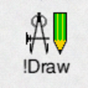 Application directory - An example RISC OS application directory - !Draw