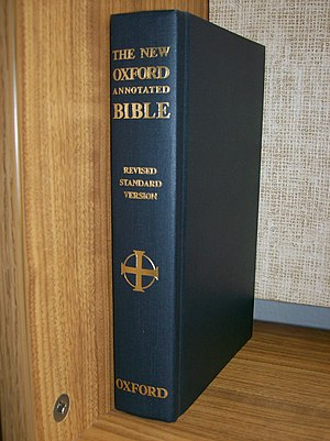 Oxford Annotated Bible - The 1973 edition of the New Oxford Annotated Bible, with the RSV text
