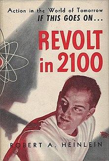 <i>Revolt in 2100</i> book by Robert Heinlein
