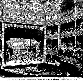 Robert the Devil (Gilbert) - Robert the Devil at the Gaiety, September 1869