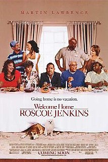<i>Welcome Home Roscoe Jenkins</i> 2008 American film directed by Malcolm D. Lee