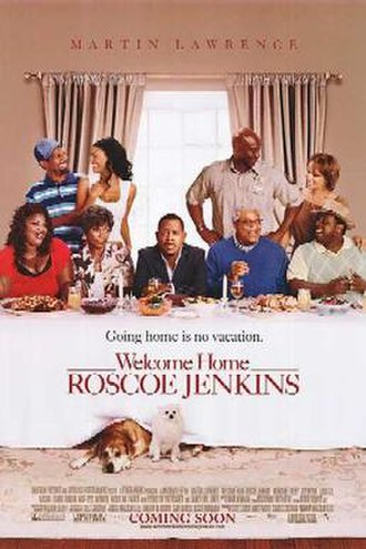 Welcome Home Roscoe Jenkins - Theatrical release poster
